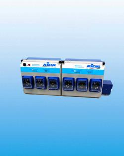 Дозатор из 6-и дозирующих насосов для стирки текстиля ARENAS® -Perestaltic 6