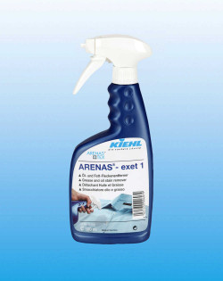 Пятновыводитель для удаления масляных и жирных пятен ARENAS®-exet 1, 500 мл
