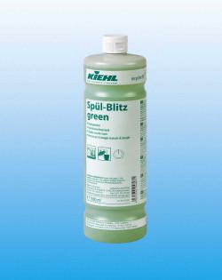 Средство для ручной мойки посуды с усилителем блеска Spul-Blitz green, 1 л