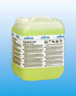 Щелочное средство для ежедневной уборки санитарных помещений Sanikal-eco, 10 л
